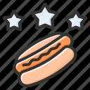 favorite, food, star, rating, hotdog, delicious, sweet