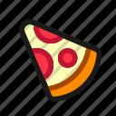 food, pizza, slice, menu, neapolitan, lunch, dinner