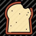 bread, food, leftovers