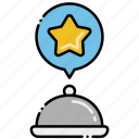 food, new, order icon