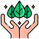 organic, produce, vegetables icon