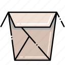 container, food, takeout icon