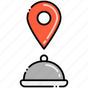 food, order, track, your icon