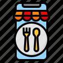 application, delivery, food, mobile, restaurant