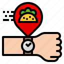 delivery, food, taco, time, wait