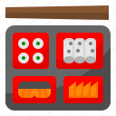 bento, chopsticks, delivery, food, japanese icon