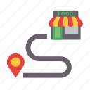 delivery, food, location, map, pin, restaurant, takeaway
