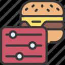 adjust, food, order, diet, takeout, takeaway