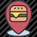 fast, food, location, diet, takeout, takeaway