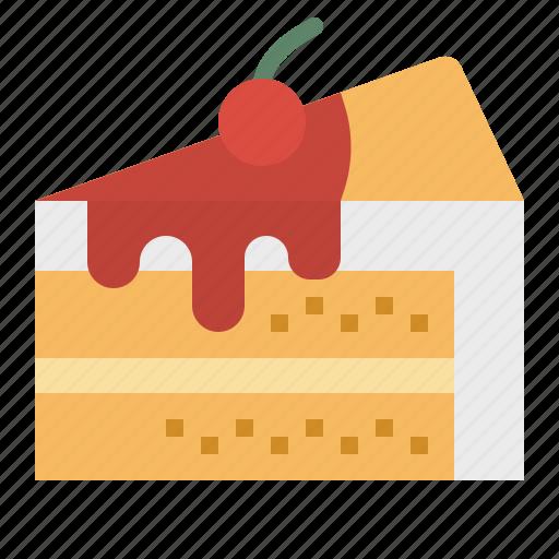 baker, bakery, cake, dessert, slice, sweet icon