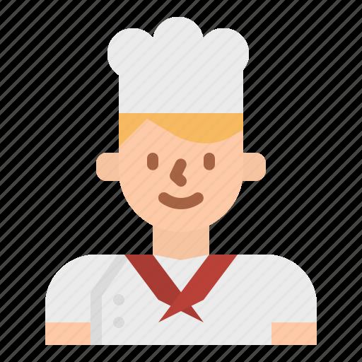 Avatar, chef, cook, cooking, kitchen, restaurant icon - Download on Iconfinder
