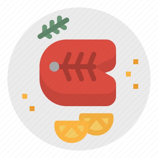 fish, fishes, food, healthy, organic, steak icon