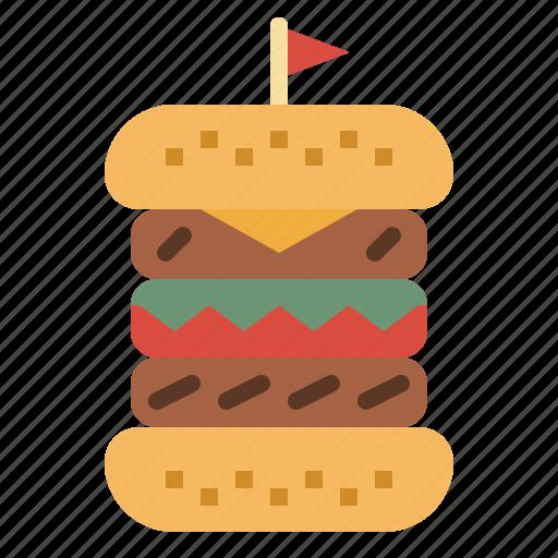 beef, burger, food, hamburger, junk, sandwich icon