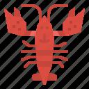 food, lobster, animal, sea