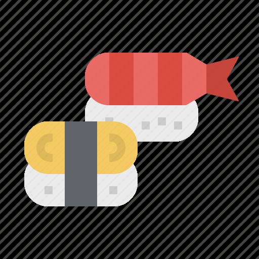 Asian, fish, food, japan, japanese, rice, sushi icon - Download on Iconfinder