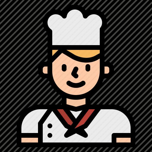 avatar, chef, cook, cooking, kitchen, restaurant icon
