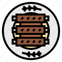 barbecue, bbq, beef, bone, meat, pork, rib icon