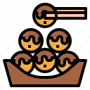 asian, food, japanese, octopus, takoyaki icon