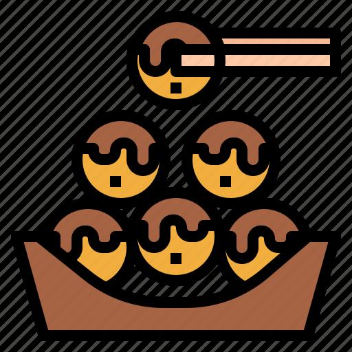 asian, food, japanese, octopus, takoyaki icon
