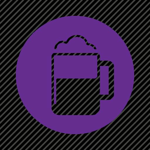 alcohol, beer, big, drink, food icon