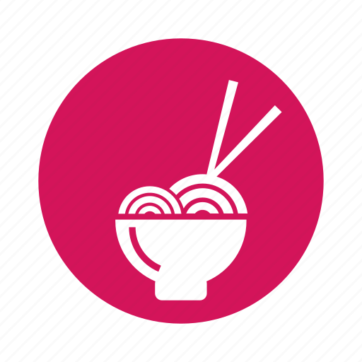 chopsticks, drink, food, instant, noodles icon