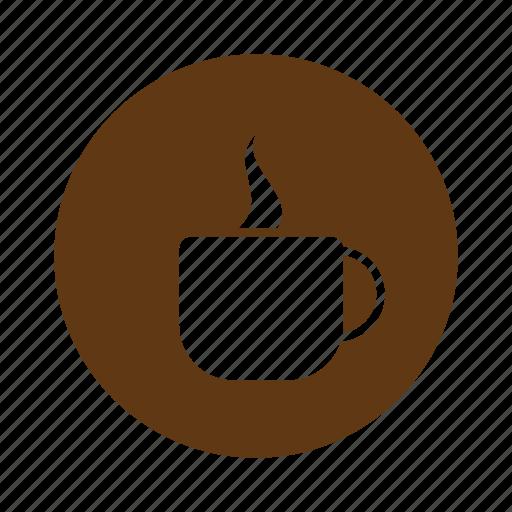 chocolate, coffee, cup, drink, food, warm icon