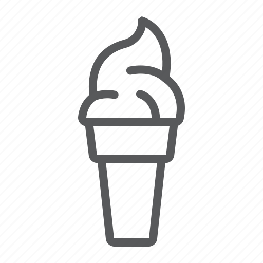 cold, cone, cream, dessert, food, ice, sweet icon