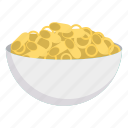 bowl, eat, food, snack icon