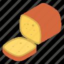 bread, delicious, slice, sweet