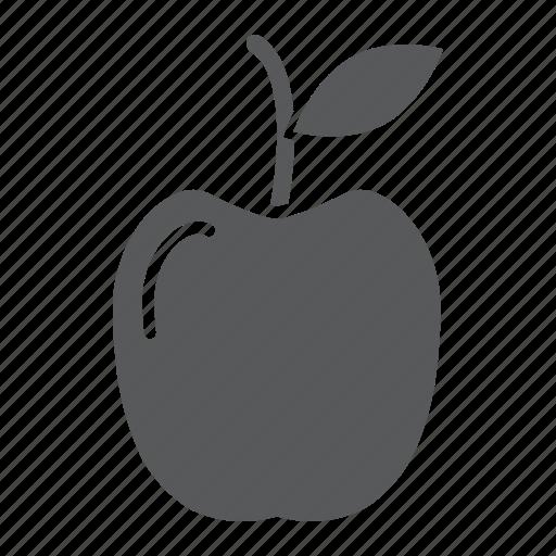 apple, diet, food, fresh, fruit, health, meal icon