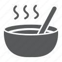bowl, dinner, food, lunch, meal, plate, soup icon
