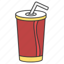 drink, drinking, eat, food, frappe icon