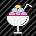 cream, drink, drinking, food, ice