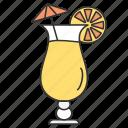 drink, drinking, food, lemon, tea icon