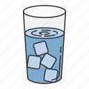 drink, drinking, food, mineral, water icon