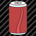 coke, drink, drinking, food, soda icon