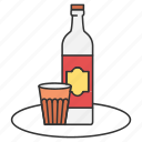 alcohol, drink, drinking, food, vodka icon