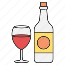 alcohol, drink, drinking, food, wine icon