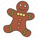 bread, eat, eating, food, ginger