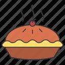 american, eat, eating, food, pie