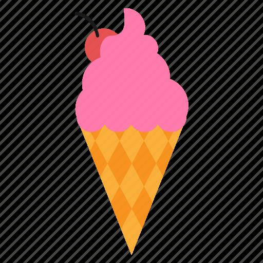 cone, cream, eat, food, ice icon