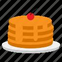 eat, eating, food, pan, pancake icon