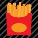 eat, eating, food, potato, stick icon