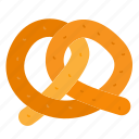 eat, eating, food, germany, pretzel icon