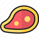 baloney, barbecue, bbq, beef, ham, meat, steak icon