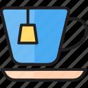 breakfast, cafe, coffee, cup, hot, hot tea, tea icon