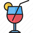 alcohol, beverage, cocktail, drink, glass, liqueur, martini icon