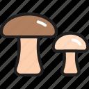amanita, champignon, food ingredient, fungi, mushroom, vegetable, vegetarian icon