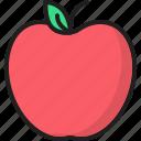 apple, diet, fresh, fruit, healthy, organic fruit, sweet icon