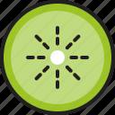 allergen, eat, food, fruit, healthy, kiwi, slice icon